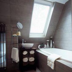 kisFlanc Lakberendezés Dekoráció DIY Receptek Kert Háztartás Ünnepek: 40 fürdőszoba ötlet a tetőtérben