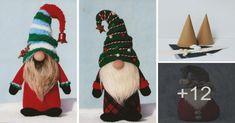 Aprende como realizar un duende navideño muy facil - Curso de costura para todos Christmas Projects, Christmas Crafts, Christmas Ornaments, Christmas Elf, Christmas Stockings, Diy Paso A Paso, Arm Warmers, Diy Crafts, Sewing