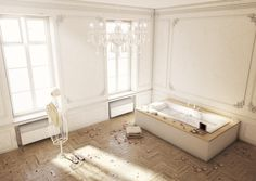 Bathrooms by Jan Reeh, via Behance