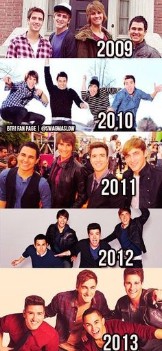 Oh how the years have passed by! :') we must add a 2014....QUICK!!!,some one find a picture