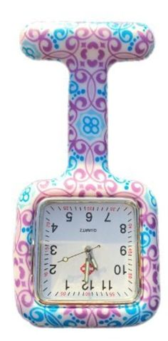 Boolavard ® TM Multi couleurs infirmière Fob de broche montre de tunique 2017 #2017, #Montresdepocheetgoussets http://montre-luxe-femme.fr/boolavard-tm-multi-couleurs-infirmiere-fob-de-broche-montre-de-tunique-2017/