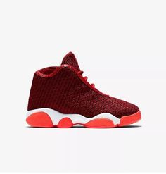 3efd3e6728123e Details about Air Jordan Horizon BP Gym Red Youth Basketball Shoes  823584-600 Boys Size 2Y