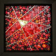 'Passion' Artist: Kathy Thaden ~ Beyond Borders: Mosaic Auction for DWB/MSF September 2012 via Flickr