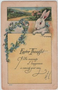Easter Thought - vintage
