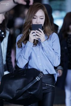 SNSD Jessica Airport Fashion 140428 2014
