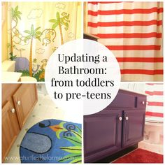 Updating Kids' Bathrooms from toddler to pre-teens