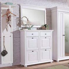Dulap Pantofi Ariana, Lemn Masiv, 115x41x115, Alb | Mobarta Double Vanity, Bathroom, Design, Washroom, Full Bath, Bath, Bathrooms, Double Sink Vanity