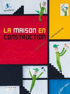 Les Éditions de L'Élan vert - La Maison en construction