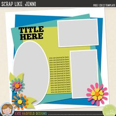 free digital scrapbook template scrapbook sketches digital
