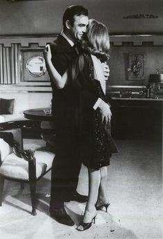 Sean Connery and Karin Dor (You Only Live Twice - 1967)