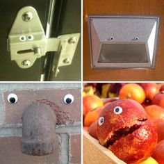 "Have you heard of ""eyebombing""?  I need to go buy a package of ""googly eyes"" today! :-)))"