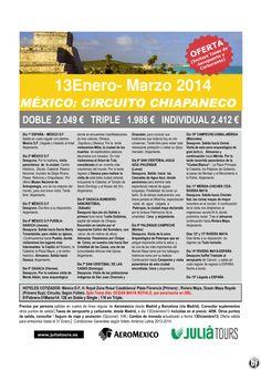 MEXICO: Circuito Chiapaneco 13Enero-Marzo Aeromexico 2.049€ Tasas Incluidas ultimo minuto - http://zocotours.com/mexico-circuito-chiapaneco-13enero-marzo-aeromexico-2-049e-tasas-incluidas-ultimo-minuto-10/