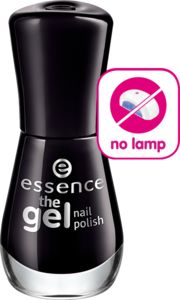 the gel nail polish 46 black is back - essence cosmetics