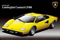 Aoshima Lamborghini Countach LP400 Model Kit  $31.84 (as of November 30, 2016, 4:40 am)