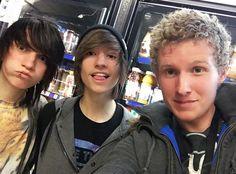 Bryan, Johnnie and Kyle