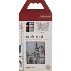 modern-twist New York Placemat And Markers Coloring Set at Barneys.com #NYC
