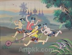 Thai Art, Childhood Days, Art Club, Culture, Fine Art, Drawings, Poster, Fictional Characters, Sketch