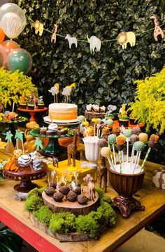 Jungle Themed Birthday Party Verjaardag ideen Verjaardag en