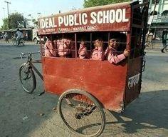transporte escolar _ índia