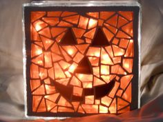 DIY Pumpkin Mosaic | DIY Network
