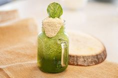 Healthy Skin Smoothie! Ingredients: spinach, mango, avocado, coconut water, filtered water, lemon juice