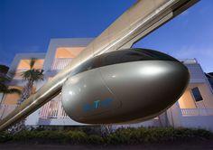 La NASA ha progettato un nuovo mezzo di trasporto che permeterebbe in futuro di decongestionare le città, Sky Tran é il nome del progetto.