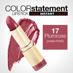 Milani Color Statement Lipstick 17 Plumrose (Cream)