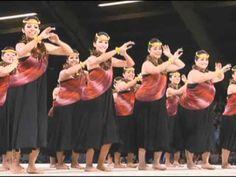 """1st Place Wahine Hula Auana  """"Hiehie Kilaulani""""  Kumu Hula Mapuana de Silva  Merrie Monarch Festival 2012, Hilo, Big Island, Hawaii"""