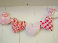 Floral Heart Garland by RubyRed06, via Flickr