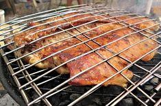 Kapr grilovaný po půlkách Pork, Meat, Kale Stir Fry, Pork Chops