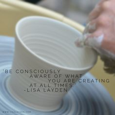 """""""Be consciously aware of what you are creating at all times.""""–Lisa Layden  You are an infinitely creative being who is literally creating your reality in every moment. Once you understand this, you will understand the WHY behind """"be consciously aware of what you are creating at all times"""". You will understand that you not only impact what you experience as your individual reality, but the global reality experience as well. Every thought; every action impacts everything."""