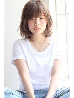 【GARDEN】モード×ミルクティーカラー×ワンカール(田塚裕志)