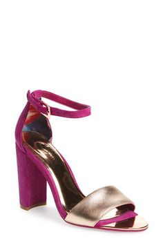 Ted Baker London Ted Baker London 'Caiye' Ankle Strap Sandal (Women) available at #Nordstrom