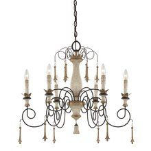View the Minka Lavery 1236 Accents Provence 6 light Chandelier at LightingDirect.com.