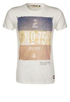Jack  Jones - HAIL - T-shirt print - Wit