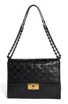 MARC JACOBS 'The Lads' Leather Shoulder Bag available at #Nordstrom