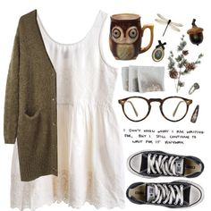 A fashion look from January 2014 featuring long sleeve cardigan, MTWTFSS Weekday and converse shoes. Browse and shop related looks. Moda Disney, Casual Outfits, Fashion Outfits, Fashion 2016, Teen Fashion, Mein Style, Hipster, Looks Style, Pretty Outfits