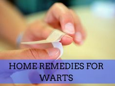 Find in this post the best home remedies for warts with all natural ingridients that will help you get rid of them once and for all. Home Remedies For Warts, Warts Remedy, Cold Home Remedies, Skin Care Remedies, Acne Remedies, Natural Home Remedies, Warts On Hands, Warts On Face