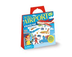 Amazon.com: Peaceable Kingdom / Sticker Fun! At the Airport Reusable Sticker Tote: Toys & Games