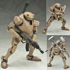 AmiAmi [Character & Hobby Shop] | Al-Mecha - Full Metal Panic! The Second Raid 1/60 Rk-92 Savage Sand Ver. Miyazawa Model Distribution Limited(Pre-order)