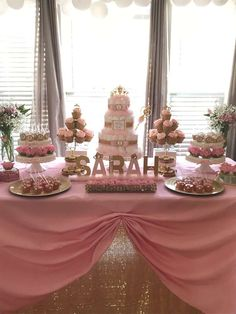 take a look at this pretty Princess Baby Baby Shower! The diaper cake is amazing!! See more party ideas and share yours at  CatchMYParty.com #catchmyparty #princessbabyshower