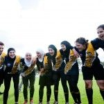 In 2011 Amna Karra-Hassan and Lael Kassem set up the Auburn Tigers, the first women's AFL team in Western Sydney. The team includes a number of Muslim women from diverse cultural backgrounds. Hijab Niqab, You Go Girl, History Teachers, Auburn Tigers, Muslim Women, Colleges, Libraries, Museums, Hijab Fashion
