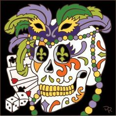 6x6 Tile Day of the Dead Mardi Gras Head by Hand-N-Hand Designs. $18.95. Fired at over 1800 degrees to create a durable and lasting piece of art. Unique hand drawn design exclusive to Hand-N-Hand Designs. Each tile is hand glazed by a skilled artist in the USA. Individually screen printed on authentic Italian Red Quarry Tile. This 6x6 decorative art tile is hand painted and hard fired at over 1800 degrees making it ready for years of use indoors or outdoors. Use...