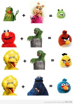 The truth behind Angry Birds.