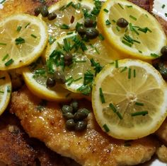 Chicken Piccata -- Gluten Free And Low Carb Recipe
