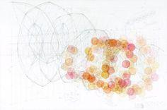 Adrien Lucca étude de structure, vrille semi-aléatoire, 2008 Color Studies, Lucca, Catalog, Diagram, Map, Drawings, Inspiration, Art, Biblical Inspiration