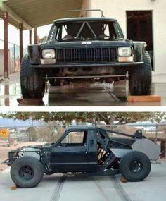Long Travel Jeep MJ Comanche