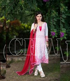 Charizma Range Vol-3 Luxury Lawn Embroidered Collection CR-613