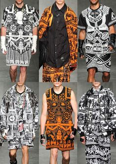 London Menswear Print Highlights – Spring/Summer 2015 catwalks