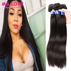 Cheap Human Hair Extensions, Buy Directly from China Suppliers:7A Straight…